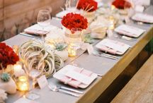 Weddings - Red and White