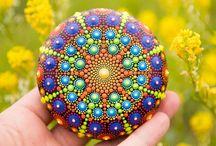 Mandala, Stones, Art etc.