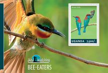 New stamps issue released by STAMPERIJA | No. 417 / UGANDA 26 02 2014 - CODE: UGN14301A-UGN14310B