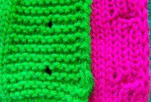 dziurki na drutach