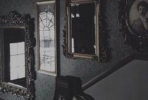 {disneyland} haunted mansion; aesthetic