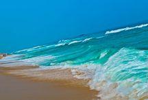 Sand and sea...