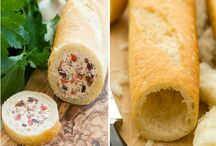 Pan francés relleno