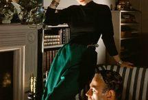 Vintage fashion: 1940s / Fashion of 1940s