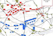 The Battle of Waterloo - 200 years ago / Wellington, Napoleon and Blucher