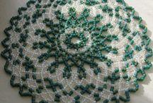 Crochet avec perles