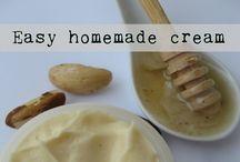 Homemade creams. / Wrinkles.