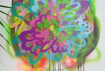 abstract painting / abstract painting/drawing/markmaking