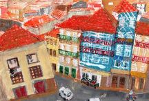 City/Townscape by Yumi Kudo / My City/Townscape paintings