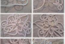 nauka i podstawowe wzory haftu