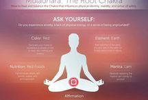 1 chackra MULADHARA - basico / Root chakra