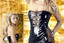 Abbigliamento Pvc Donna / Intimo e abbigliamento in pvc Black Level