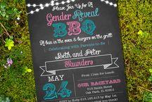 Gender Reveal BBQ / by Bri Reed