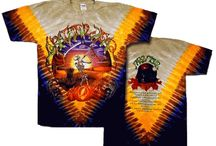 Jerry Garcia / Tie dye t shirts that pay tribute to Jerry Garcia who is the found of the Grateful Dead.