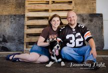 On-location / Cleveland area places and ideas for on-location portrait and wedding photography.