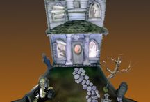 Top Haunted House Cakes /   #featured-cakes #halloween #haunted-house #cakecentral