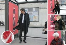 Bus Stop - advertising / Creative advertising in buses and bus stops / by Martin Olmi