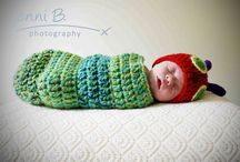 Newborn photo props / by Rachel Troychock