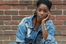 girl afro inspiration