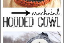 knitted  cowls i like!