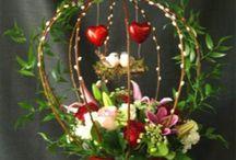 valentijns bloemwerk