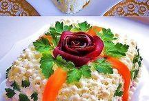 Праздничные блюда и правила сервировки стола / Праздничные блюда и правила сервировки стола