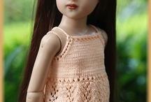 Doll- AG; knit/crochet / by Arni Austin