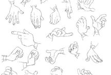 """draw-ref-body / human parts of the body, """"How to draw?"""", """"SKETCHING"""", general drawing"""