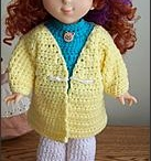 """Doll Clothes / Baby doll and 18"""" doll clothes and accessories"""