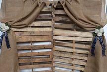 Rustic Wood Pallete