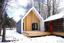 Winter : Cozy Cabins / by mossArchitects
