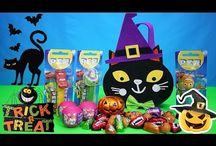 Halloween trick or treat / Treats toys sweets chocolates, forget about the tricks haha