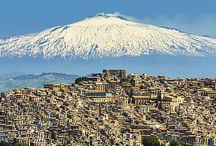 Sicily / The perfect Autumn destination - This dramatic and beautiful island stays warm throughout Northern Europe's chilly autumn. This, and its mountains, beaches, bustling markets and tasty cuisine make it the perfect post-summer escape.