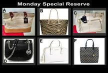 Monday Fashion Special August 25 at 10 PM / Special Very Low Reserve Auction Tonight at 10 PM at OnecentChic.com