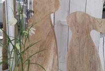 wood rabbits
