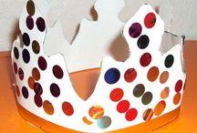 épiphanie, couronnes et activités / épiphanie, couronnes et activités réalisés par les enfants chez nounoudunord http://nounoudunord.centerblog.net/rub-galette-des-rois-.html