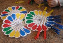 Teach child colors