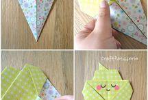 Origami icecream / Children's art
