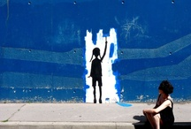 Urban kunst / Street art er også en del av det offentlige rom