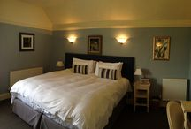 The Blue Room / Our Victorian Bedroom, with high ceilings and very large bed!
