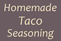Dips, sauces and seasonings