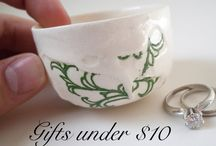 Gifts Under $10 / Christmas gifts under $10 Wedding gifts under $10  Gifts for him under $10 Gifts for her under $10