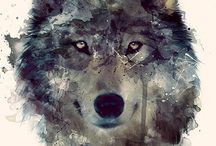 Wolf sleeve tattoo ideas