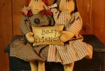 Primitive Dolls / by Allyson's Place