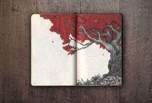 quaderni schizzi
