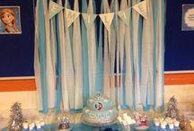 Emilie's frozen birthday bash! / Emilie's 5th birthday - frozen party