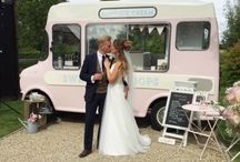 Ice Cream Van on your Wedding Day / Weddings with Lottie