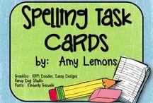 Spelling / #spelling #task #cards