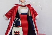 Barbie Ensembles / Includes: hat, purse, coat, gloves, dress/skirt/pants, shoes, jewelry... / by Dawn Costner