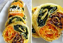 üç renkli börek
